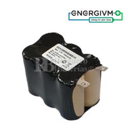 Batería 7,2 Voltios 1.900 mAh Sub-C Formato Flasco