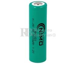 Batería AA 1.2 Voltios 2,5 Amperios NiMh S/Lengüetas