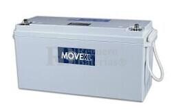 Batería AGM 12 Voltios 185 Amperios 482x170x238 MOVE MPA185-12XL