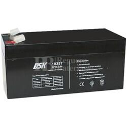 Batería AGM 12 Voltios 3,3 Amperios DSK