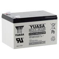 Batería 12 Voltios 14 Amperios YUASA REC14-12
