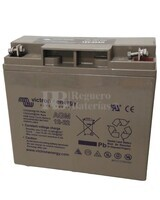Batería AGM de Ciclo Profundo Victron Energy 12 Voltios 22 Ah