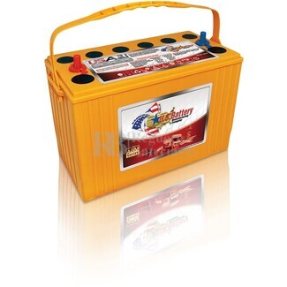 Bateria de tracción 12 voltios 100 Amperios C20 USAGM31 AGM 330x174x238 mm