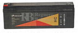 Bateria Agm HEYCAR 12 Voltios 2,2 Amperios HC12-2.2 178x35x67