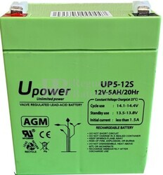 Batería Alarma de 12 Voltios 5 Amperios UP5-12