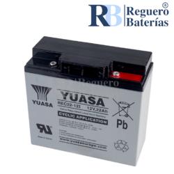 Batería Arrancador 12 Volt 22 Amp REC22-12