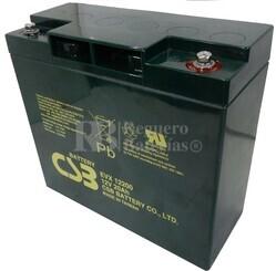 Batería Arrancador 12 voltios 20 amperios CSB EVX12200