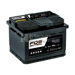 Batería Arranque 12 Voltios 44 Amperios Black FQS44.0