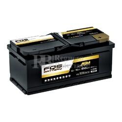 Batería Arranque 12 Voltios 90 Amperios Start-Stop AGM FQS90AGM.0