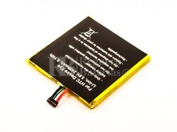 Bater�a B0PFH100 para HTC Desire Eye Li-ion, 3,8V, 2400mAh, 9,1Wh