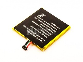 Batería B0PFH100 para HTC Desire Eye Li-ion, 3,8V, 2400mAh, 9,1Wh