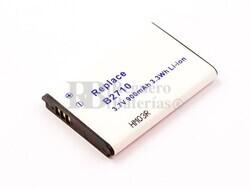 Bateria B2710, para telefonos SAMSUNG, Li-ion, 3,7V, 900mAh, 3,3Wh
