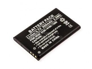 Batería BL-4C para teléfonos Nokia 5100, 6100, 6101, 6103,