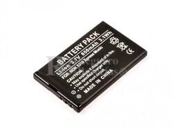 Bateria  5310 XpressMusic, para telefonos, Nokia, Li-ion, 3,7V, 850mAh, 3,1Wh