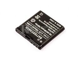 Bater�a  6500 classic, para telefonos Nokia 7900 Prism, Li-ion, 3,7V, 700mAh, 2.6Wh