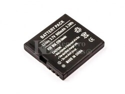 Bateria  6700 classic, para telefonos Nokia,  Li-ion, 3,7V, 900mAh, 3,3Wh