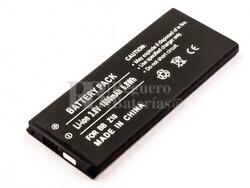 Batería BlackB Z10, L-S1, Li-ion, 3,8V, 1800mAh, 6,8Wh