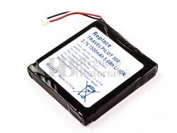 Batería Blaupunkt TravelPilot 300, Li-ion, 3,7V, 1500mAh, 5,6Wh, para GPS