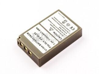 Batería BLS-5, Li-ion, 7,2V, 1100mAh, 7,9Wh, para camaras OLYPUS