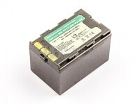 Bateria BN-V312, Li-ion, para camaras JVC, 7,2V, 2000mAh, 14,4Wh, silver