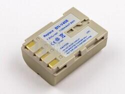 Bateria BN-V408, Li-ion, para camaras JVC, 7,2V, 1100mAh, 7,9Wh, silver