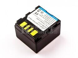 Batería BN-VF707, Li-ion, para camara JVC,  7,4V, 750mAh, 5,6Wh