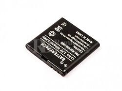 Bateria 5700, 8600, para telefonos Nokia, Li-ion, 3,7V, 900mAh, 3,3Wh