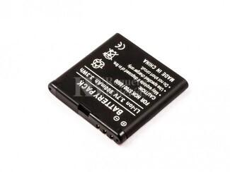 Batería BP-5M para teléfonos Nokia,5700, 8600,