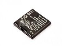 Batería BP-6MT para teléfonos Nokia, E51, N81,