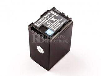 Batería para cámaras Canon BP-828, Vixia HF G30, XA20, XA25...