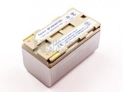 Bateria BP-924, para camaras Canon, Li-ion, 7,2V, 4400mAh, 31,7Wh, silver