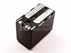 Bateria BP-950, BP-970, Li-ion, para camaras Canon, 7,4V, 6600mAh, 48,8Wh