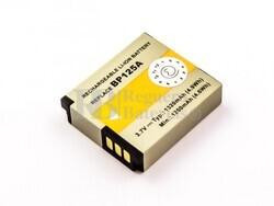 Bateria BP125A, IA-BP125A, para camaras Samsung, Li-ion, 3,7V, 1320mAh, 4,9Wh