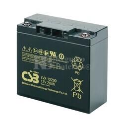 Batería Carrito de Golf 12 Voltios 20 Amperios CSB EVX12200