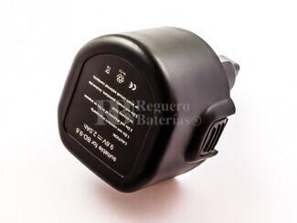 Batería para Maquinas Black & Decker CD231K Ni-Cd, 9,6V, 2000mAh, 19,2Wh