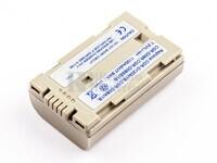 Batería CGR-D120, plateada para cámaras Panasonic NV-MX5, NV-MX3EN, NV-MX3A, NV-MX350EG,