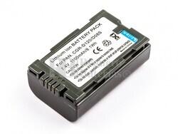 Batería CGR-D120 para Panasonic NV-MX5, NV-MX3EN, NV-MX3A, NV-MX350EG, NV-MX350A