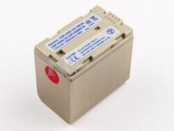 Bateria, CGR-D320, Li-ion, 7,2V, 3000mAh, para camaras Panasonic