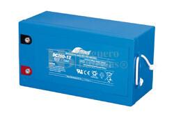 Batería Cíclica de Alta Descarga FULLRIVER 12 Voltios 260 Amperios DC260-12
