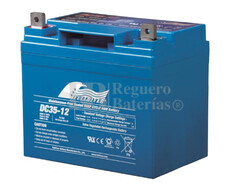 Batería Cíclica de Alta Descarga FULLRIVER 12 Voltios 35 Amperios DC35-12B