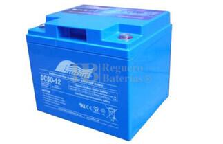 Bateria Ciclica de Alta Descarga FULLRIVER 12 Voltios 50 Amperios DC50-12B