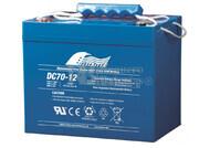 Bateria Ciclica de Alta Descarga FULLRIVER 12 Voltios 70 Amperios DC70-12