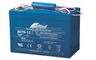 Bateria Ciclica de Alta Descarga FULLRIVER 12 Voltios 79 Amperios DC79-12
