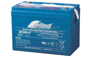 Bateria Ciclica de Alta Descarga FULLRIVER 6 Voltios 200 Amperios DC200-6
