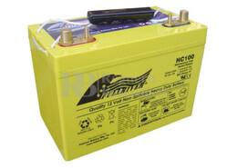 Bateria Ciclica de Alta Descarga FULLRIVER HC100 12 Voltios 100 Amperios