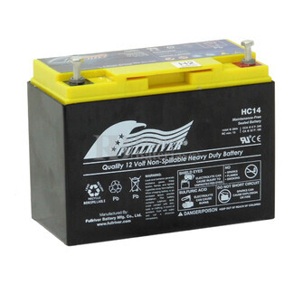 Batería Cíclica de Alta Descarga  12 Voltios 15 Amperios FULLRIVER HC14B