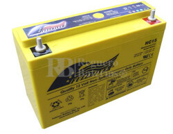 Bateria Ciclica de Alta Descarga FULLRIVER HC15 12 Voltios 15 Amperios