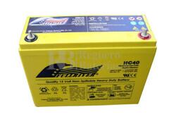 Batería Alta Descarga 12 Voltios 40 Amperios Fullriver HC40