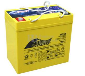 Bateria Ciclica de Alta Descarga FULLRIVER HC55 12 Voltios 55 Amperios