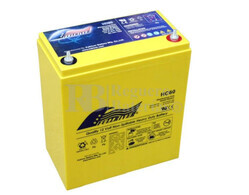 Batería Alta Descarga 12 Voltios 60 Amperios Fullriver HC60
